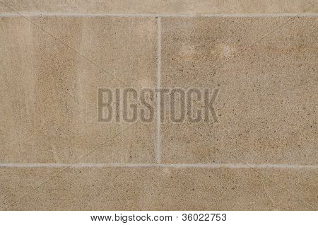Wall With Sandstone