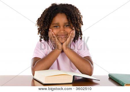 Adorable African Girl Studding