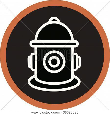 A Graphic Representatin Of A Fire Hydrant