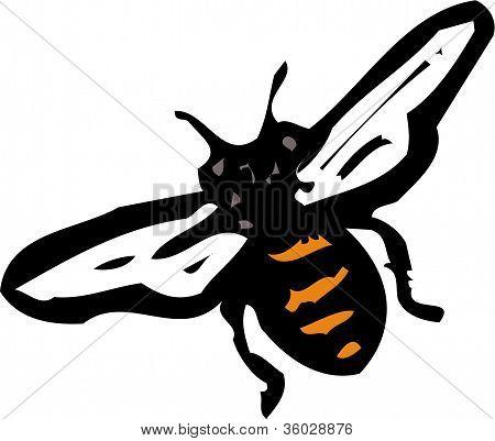 Abbildung einer Biene