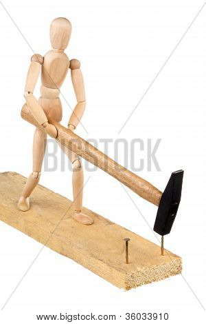 Dummy With A Hammer