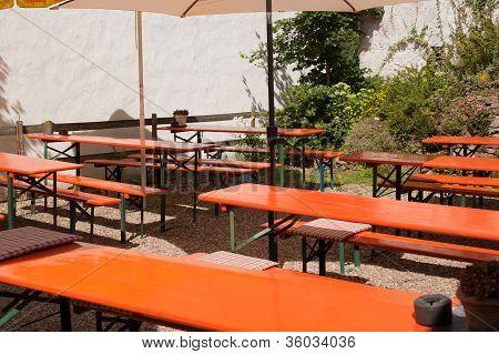 Outdoor Garden Restaurant