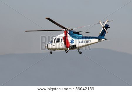 Air Ambulance Flying