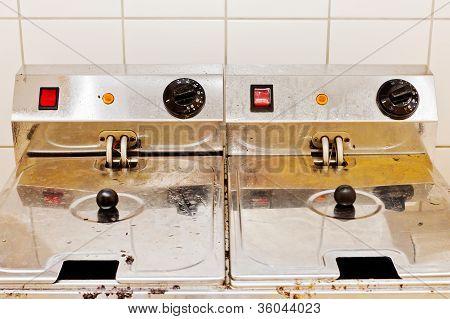 Two Deep Fryers