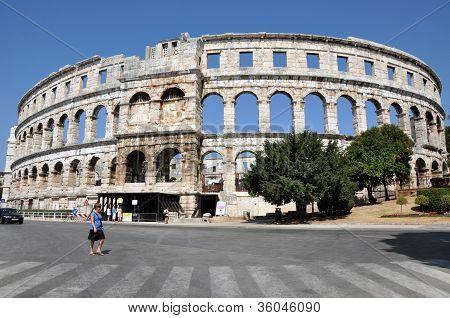 Pula Colosseum, Croatia