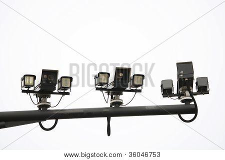 CCTV, câmera de tráfego