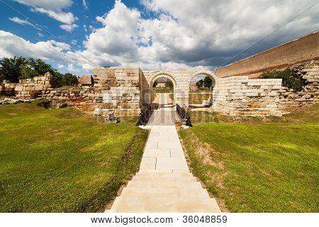 Apulum Roman Castra In Romania