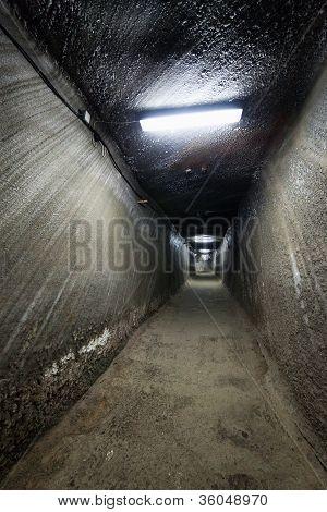 Salt Mine From Turda, Romania