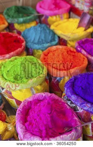 Powder for Holi.