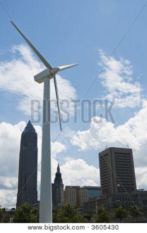 Cleveland Wind Turbine