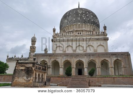Qutb Shahi Tombs in Hyderabad