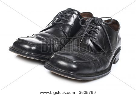 Used Black Shoes