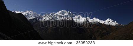 Panorama shot of Nayakangri mountain