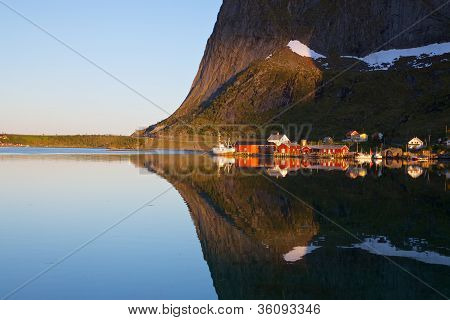 Fjord Reflection