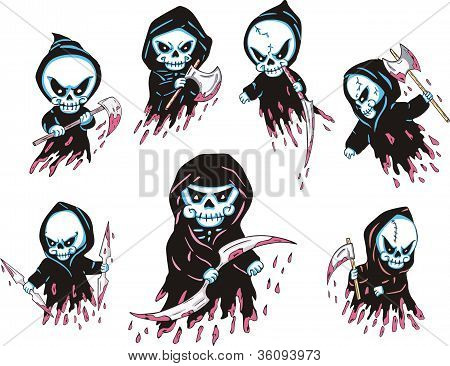 Death Cartoons