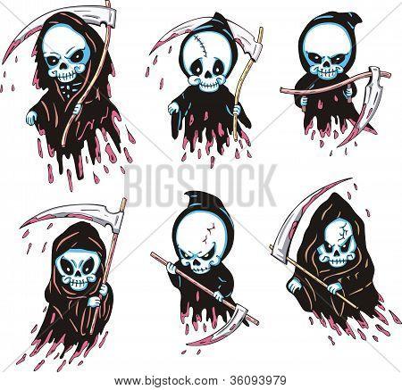 Death With Scythe