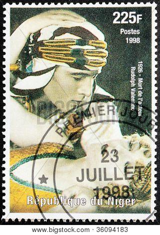 Rudolph Valentino Stamp