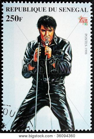 Presley - Senegal Stamp#4