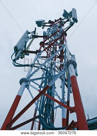 A mobile company tower