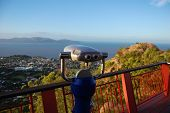 Binocular At Lookout