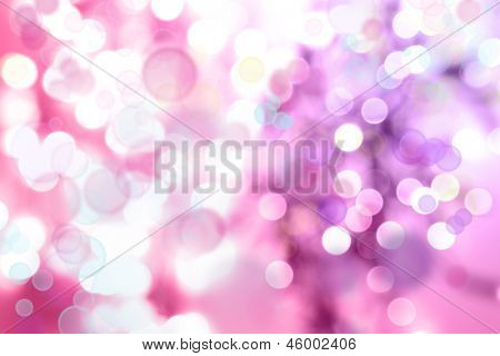 Abstrakt Rosa Ton Lichter Hintergrund
