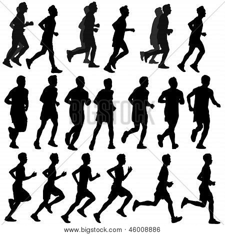 Run Silhouette Vector.eps