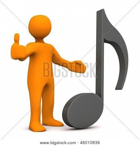 Musik Note Ok