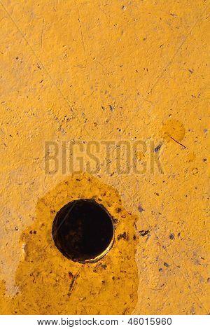Hole - Yellow Background