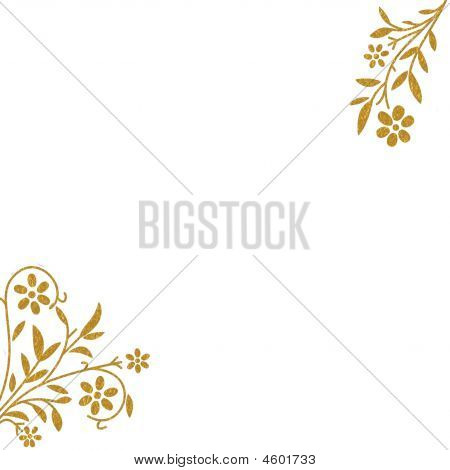 Gold Spring Flowers