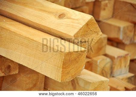 Wooden beam