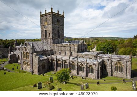 St Davids Cathedral Pembrokeshire Wales