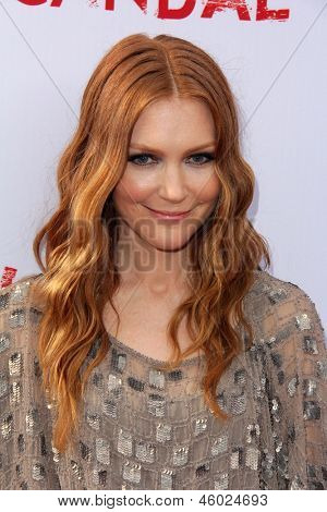 LOS ANGELES - MAY 16:  Darby Stanchfield arrives at