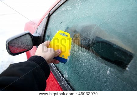 Frozen Car Deicing