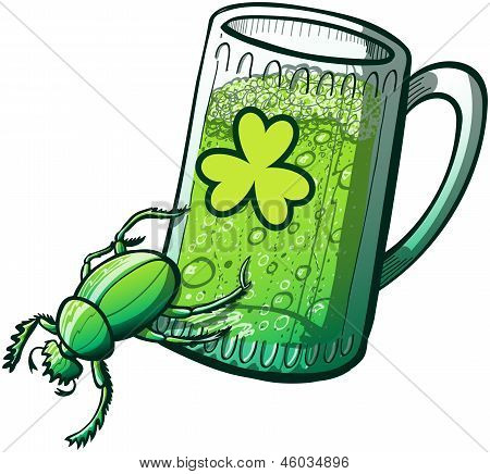 St Patrick's Day Beetle