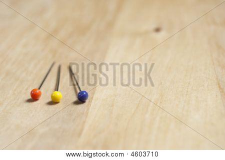 Three Pins - Closeup