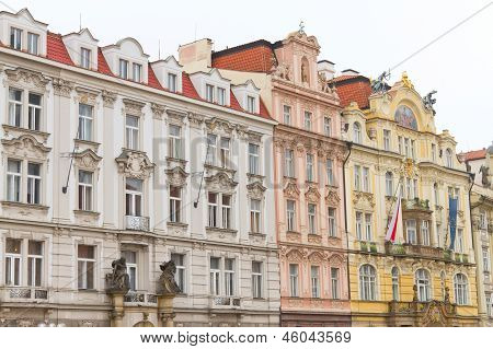 Old Buildings From Prague