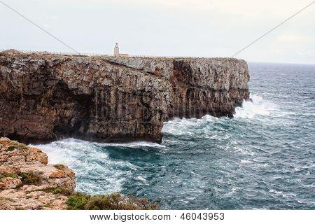 Rocky Algarve, Portugal Coastline