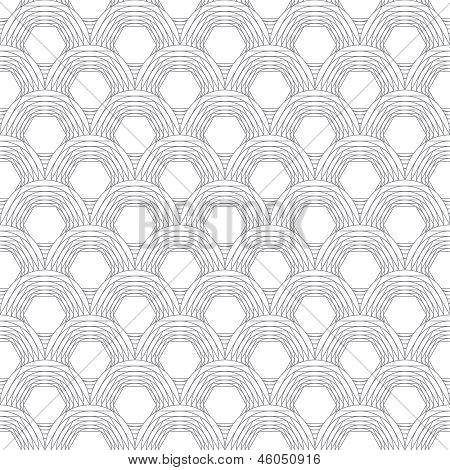 Monochrome Vector Simple Geometric Scales Texture