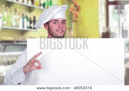 Cook With Menu Poster