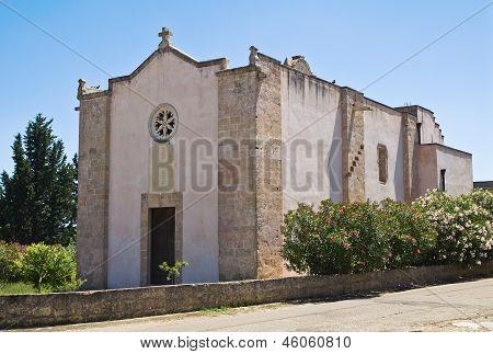 Church of St. Nicola. Specchia. Puglia. Southern Italy.