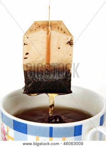Cup Of Tea And Tea Bag.