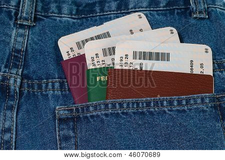 Pass- und Bordkarte