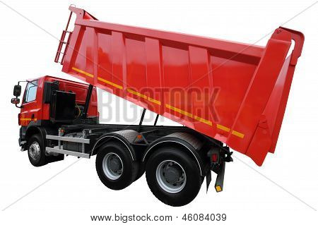 The Lorry With The Lifted Body