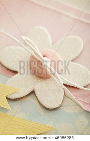 scrapbook greeting card details