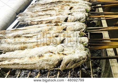 Fresh fish grilled