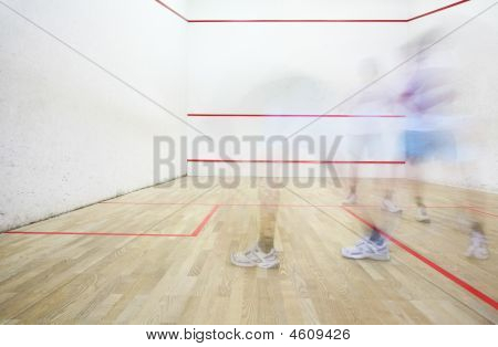 Squash Playing