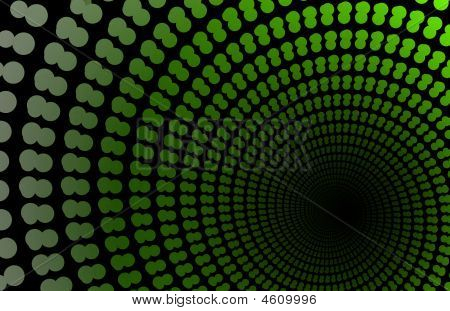 Alien Abstract Portal Background
