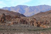stock photo of mt whitney  - Alabama Hills are a  - JPG