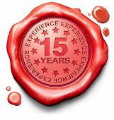 fifteen years experience 15 year of specialized expertise top expert specialist best service guarant