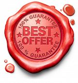 best offer lowest price and best value for the money web shop icon or online promotion stamp or labe